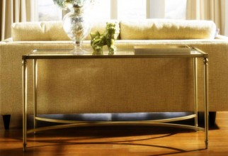 1600x1199px Glass Topped Sofa Table Picture in Table