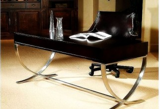 1600x1250px Smart Metal Base Black Top Office Table Picture in Table