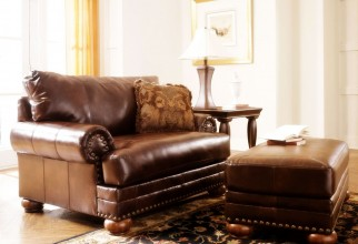 1600x1182px Antique Leather Ottoman Picture in Furniture Idea
