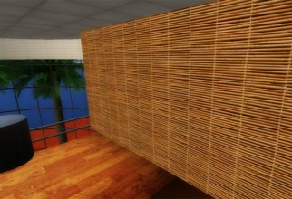 1600x977px Bamboo Partition Ideas Picture in Furniture Idea