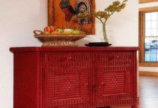 1600x1527px Beautifully Woven Bamboo Sideboard Picture in Furniture Idea