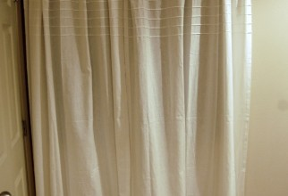 1064x1600px Basement Window Curtains Picture in Curtain