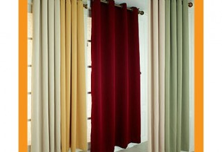600x600px Blackout Curtain Liner Picture in Curtain