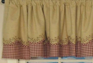 500x500px Country Curtains Valances Picture in Curtain
