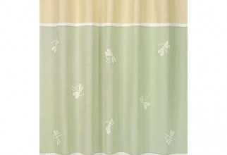 550x550px Dragonfly Shower Curtain Picture in Curtain