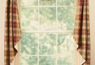 450x586px Fishtail Swag Curtains Picture in Curtain