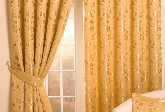 984x1442px Gold Curtains Picture in Curtain