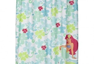 500x500px Mermaid Shower Curtain Picture in Curtain
