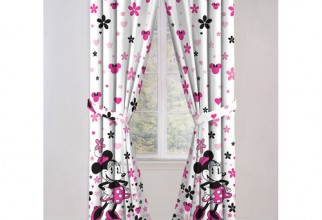 500x500px Minnie Mouse Curtains Picture in Curtain