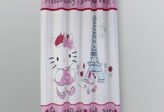 1800x1800px Paris Shower Curtain Picture in Curtain