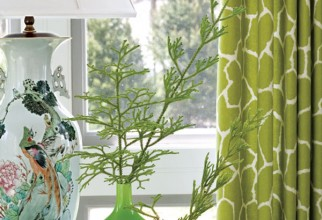 600x794px Patterned Curtains Picture in Curtain
