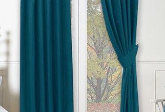 375x500px Peacock Curtains Picture in Curtain