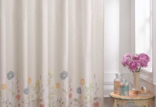 788x1000px Shower Curtains Fabric Picture in Curtain