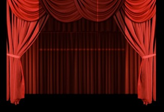 1800x1500px Theater Curtain Picture in Curtain