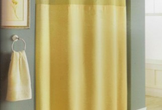 634x800px Waffle Weave Shower Curtain Picture in Curtain