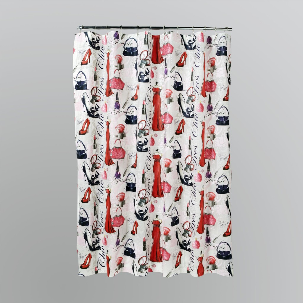 Apothecary Shower Curtain in Curtain