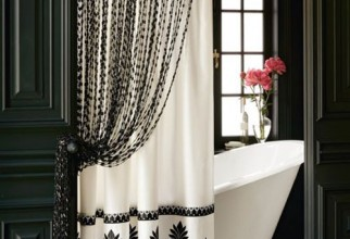 500x544px Bathroom Shower Curtain Ideas Picture in Curtain
