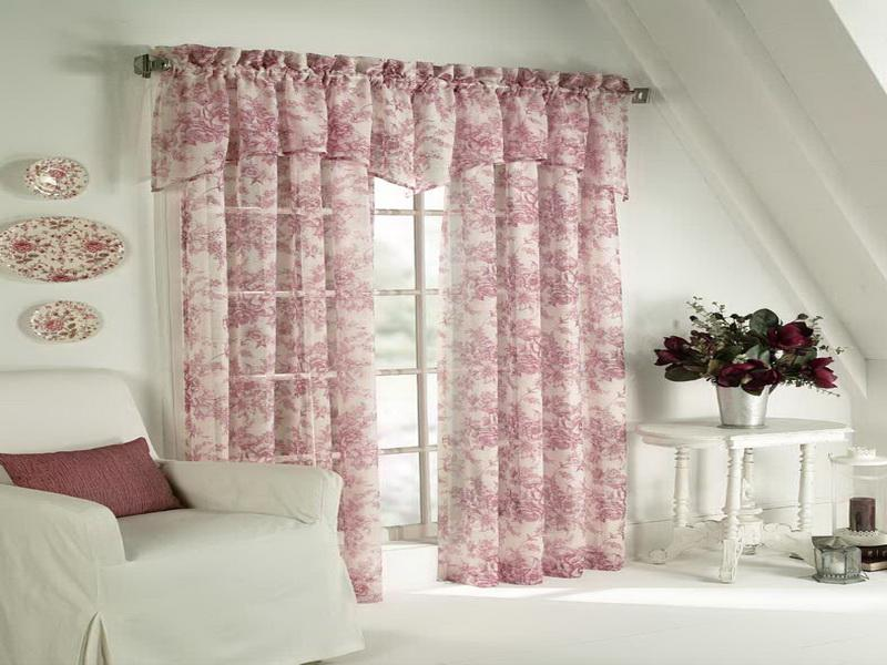 Cottage Style Curtains in Curtain