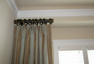 736x552px Curtain Rod Hangers Picture in Curtain