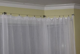 500x375px Curtain Wire System Picture in Furniture Idea