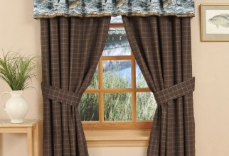 750x875px Deer Curtains Picture in Curtain