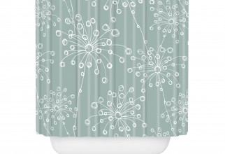 2000x2000px Deny Shower Curtain Picture in Curtain