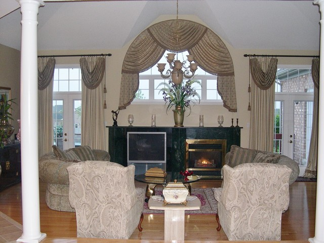Family Room Curtains in Curtain