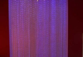 450x521px Fiber Optic Curtain Picture in Curtain