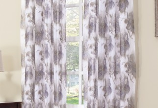 750x1218px Grey Sheer Curtains Picture in Curtain