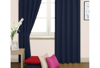1000x1000px Navy Blackout Curtains Picture in Curtain