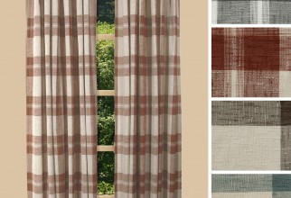 2000x2000px Plaid Curtain Panels Picture in Curtain