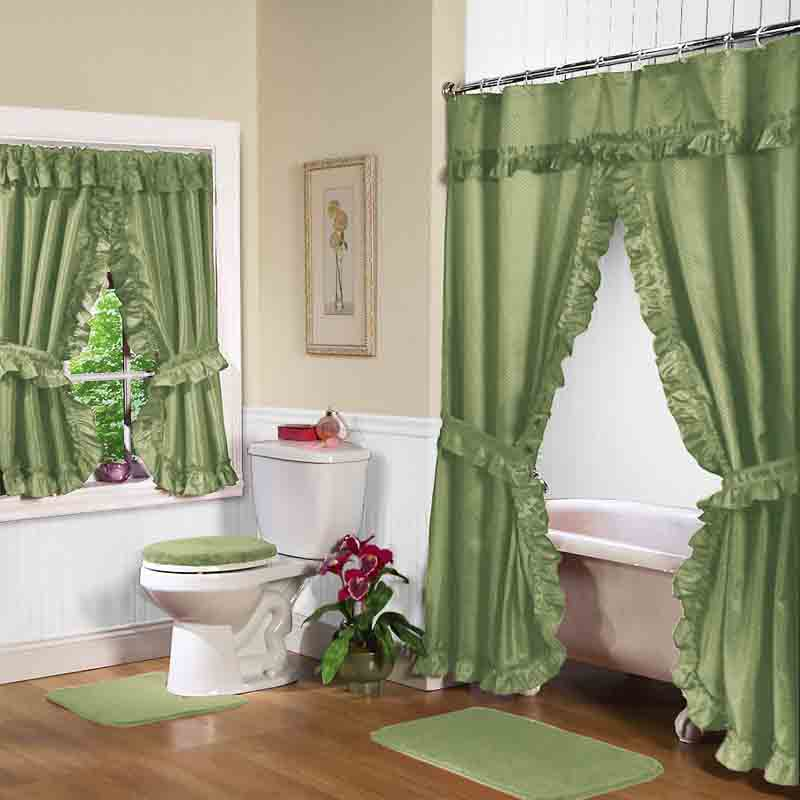 Shower Window Curtains in Curtain