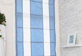 681x681px Blue And White Curtain Panels Picture in Curtain