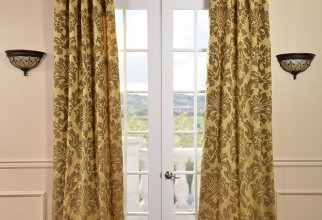 700x922px Bronze Curtains Picture in Curtain
