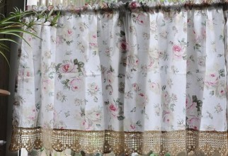 800x800px Country French Curtains Picture in Curtain