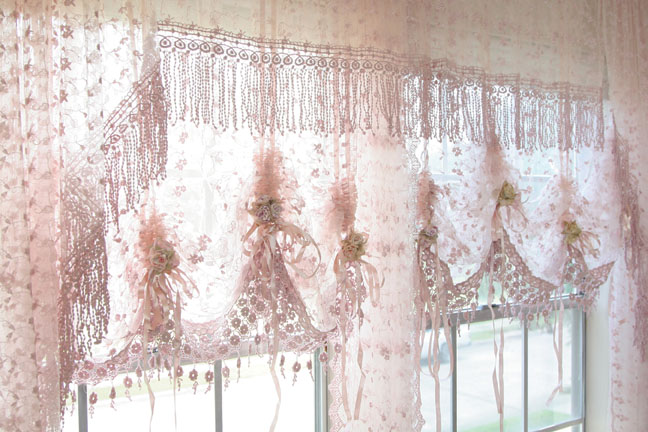 Country Lace Curtains in Curtain