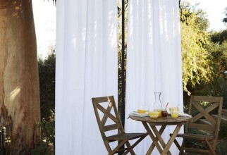 580x580px How To Hang Outdoor Curtains Picture in Curtain