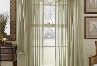 788x1000px How To Hang Sheer Curtains Picture in Curtain