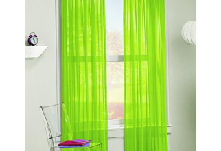 500x500px Lime Green Sheer Curtains Picture in Curtain