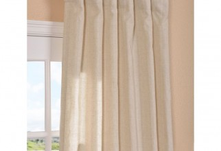 800x800px Natural Linen Curtains Picture in Curtain