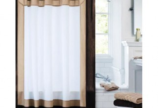 500x500px Solid Color Shower Curtains Picture in Curtain