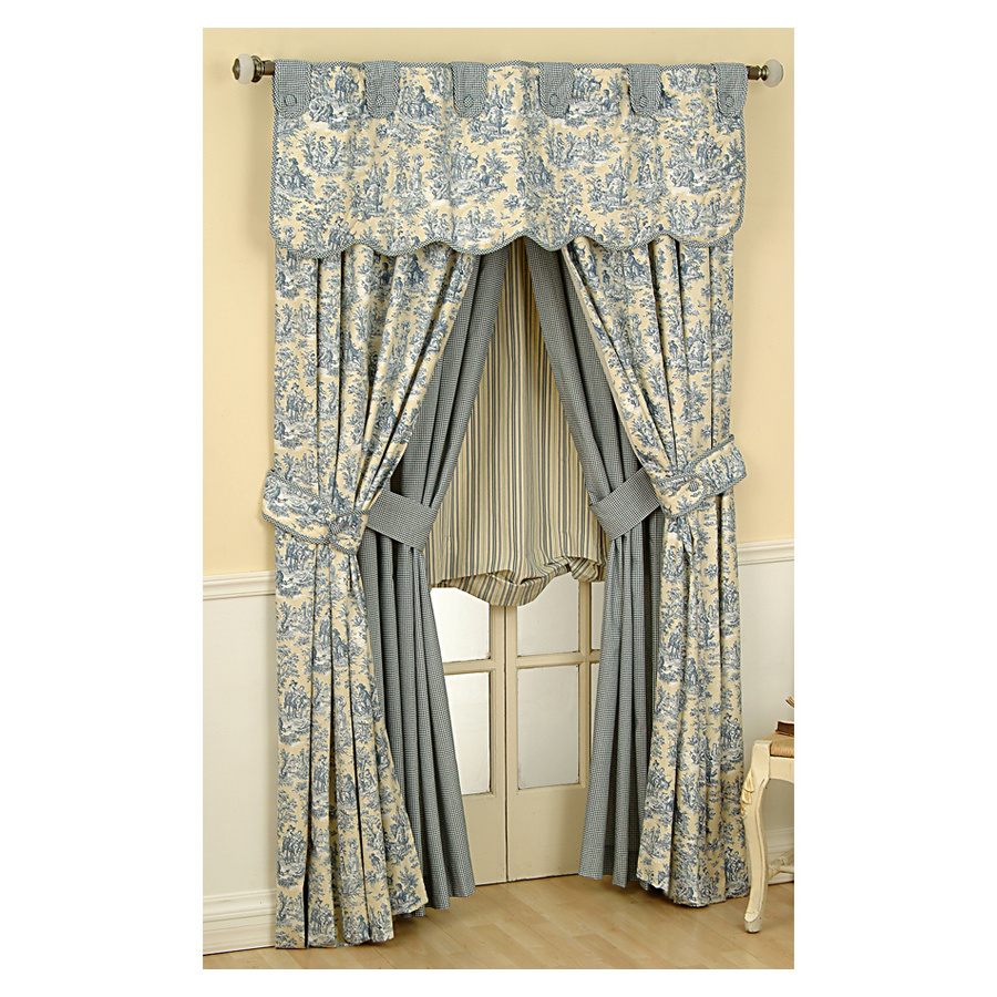 Waverly Curtains Lowes in Curtain