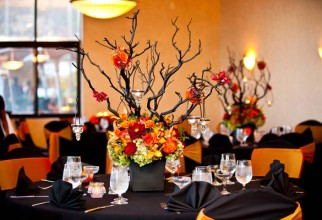 600x400px Halloween Centerpiece Ideas Picture in Interior Design